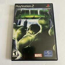 Hulk (Sony PlayStation 2 PS2) Video Game Complete With Manual - Tested & Works
