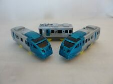 Tomy trackmaster rare silver turquoise 2 speed bullet train