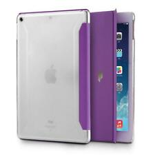 Apple iPad 9.7 PU leather Rugged Case Poetic Slimline Shockproof Cover Purple