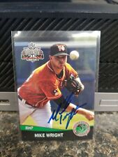 Mike Wright Norfolk Tides Baltimore Orioles Autographed Card In person