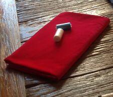 Cuarto gordo (50 X 70cms) Lápiz Labial Rojo Pana Tela - 100% Algodón