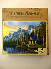 Jigsaw Puzzle Mountains Forest 750 PCS Dominic Davison Time Away New Sealed