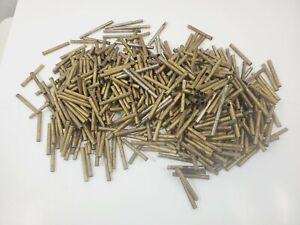 Bulk Lot Rod Building Wrapping Vintage various ferrules Brass Silver Nickel