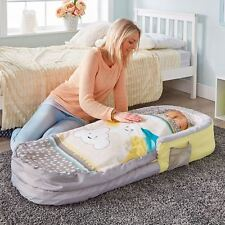 STARS AND CLOUDS MY FIRST READY BED KIDS SLEEPOVER SOLUTION AIR BED TRAVEL NEW