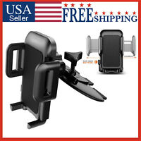 Car Cell Phone CD Slot Mount Holder Stand iPhone Galaxy GPS Universal 360°
