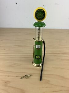 John Deer Gas Station Toy Mini Old Fashion Limited Edition Gas Pump Gear Box