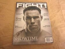 Jake Shields Fighter Autographed FIght! Magazine MMA UFC Elite XC Strikeforce