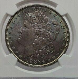 1886 NGC MS 65 Toned Morgan Dollar
