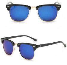Vintage UV400 Outdoor Shades Eyewear Women Mens Retro Round Polarized Sunglasses