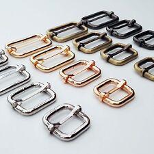 Metal Leather Bag Strap Belt Web Adjust Tri-glide Buckle Slider Rectangle O Ring