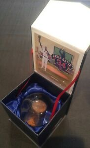 Fanatics Authentic David Ortiz Final Game at Fenway Game used Dirt Embedded
