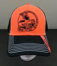APWA Mid-America Snow & Equipment Expo 2017 Trucker Hat Cap Orange Black - NEW