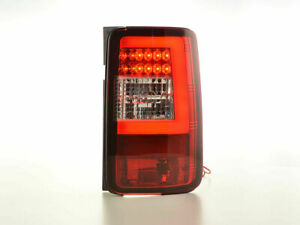 VW CADDY 2K MODEL 2003-2015 RED & CLEAR LED REAR LIGHTS LAMPS TAIL BACK LIGHTS