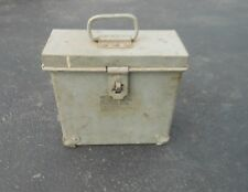 Vintage US Army Steel Ammo Box Type 1 Size 2