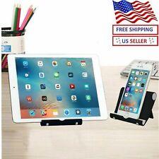 Portable Desk Desktop Phone Stand Holder For iPhone Cellphone Tablet Adjustable