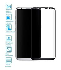 Protector de Pantalla Cristal Templado Curvo para Samsung Galaxy S8 Plus Negro