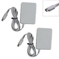 2x US Plug Travel AC Adapter Home Wall Charger for Nintendo DSi NDSi XL/LL 3DS