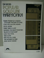 The Second Popular Gold Line Harmonica Sheet Music Book Columbia