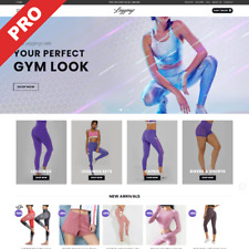 Turnkey Leggings Shop Automated Dropshipping Website Profitable Business