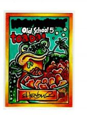 2014 Topps Wacky Packages OLDS5 Old School 5 Chenduz Toadal Sketch Card