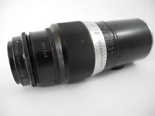 LEICA HEKTOR 135/4.5 BLACK PAINT & CHROME IN SCREW MOUNT VERY CLEAN FOR THE AGE