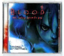 CD MANGA / BLOOD THE LAST VAMPIRE (B.O.F SOUNDTRACK O.S.T) ALBUM COMME NEUF