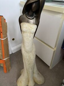 lady figurines ornament , good condition
