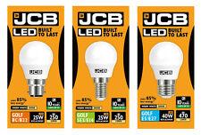 1 x JCB 3w=25w / 6w=40w LED Golf Ball Light Bulbs BC / ES / SES - 3000k