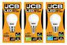 JCB 3w=25w 6w=40w LED Golf Ball Light Bulb BC/B22 ES/E27 SES/E14 Warm White 830