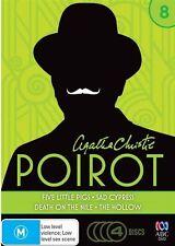 Agatha Christie - Poirot : Season 8 (DVD, 2015, 4-Disc Set) R4 (D153) (D180)
