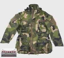 Schwedisch tarn camouflage TACGEAR Parka Einsatzjacke Spezialkräfte KSK Smock S
