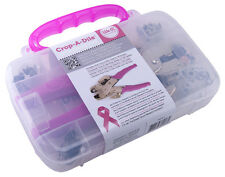 Crop-A-Dile Hole Punch Eyelet Snap Setter Kit Cropadile We R Memory Keepers