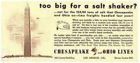 Lot 2 Chesapeake & Ohio Lines Vintage Blotter