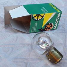 AMPOULE LAMPE PROJECTEUR NEUVE MAZDA 6V 60W BA 21S R1806 PROJECTION VINTAGE