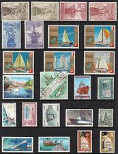 BOATS SHIPS Thematic STAMP Collection MINT USED Ref:TS92