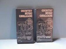 Country Music Cavakcade Nashville Graffiti & American Country Gold 4 CD's Total