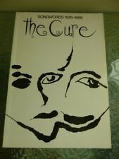 More details for the  cure songwords 1978-1989 - robert smith - fiction omnibus press