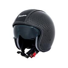 VESPA 606137M0 M Casco Vespa VJ1 in fibra di carbonio TAGLIA M / Helmet Vespa...