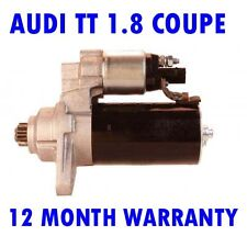 Audi TT 1.8 coupe convertible 2005 2006 starter motor 12 month warranty
