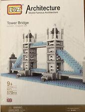 LOZ London TOWER BRIDGE Micro Building Blocks~570 Pcs Orig. Box & Packaging