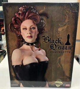 Sideshow Collectibles Marvel Comiquette Black Queen Figure  limited 750