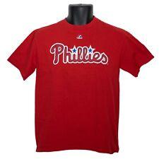 Philadelphia Phillies Cliff Lee #33 Majestic Boys T-Shirt Red Size L Large