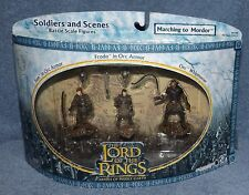 LORD OF THE RINGS AOME SOLDIERS & SCENES MARCHING TO MORDOR SET LOTR