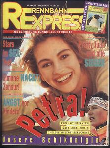 Rennbahn Express Nr.2 von 1991 Arnold Schwarzenegger, George Michael, Madonna...