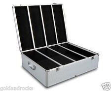 NEW Aluminium CD DVD Bluray Storage Case Box 1000 Discs SL movie 2 locks 2 keys