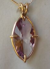 Amethyst  Infinite Eye Pendant j2808