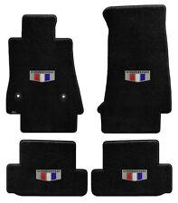 NEW! BLACK FLOOR MATS 2016-2018 Camaro Embroidered Crest Shield Logo on all 4