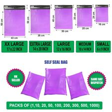 More details for purple postal mailing bags postage coloured packaging parcel shipping bags cheap