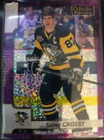 2017-18 O-Pee-Chee Platinum Violet Pixels Sidney Crosby Card #1
