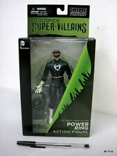 Dc Comics Collectibles Super-Villains POWER RING Action Figure 17Cm New Nuovo